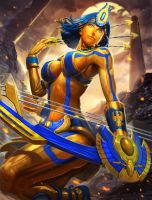 Smite Gold Neith by Brolo