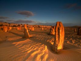 Silent Guards of Nambung by FireflyPhotosAust