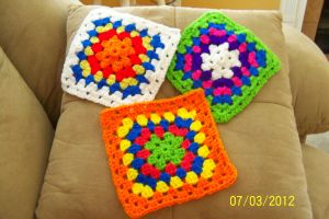 Granny Squares for Charity by quirkyhime