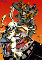 Sam and Max: Freelance Police by TaraGraphic