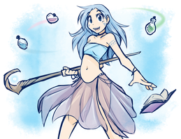Potion Dancer Sealeen by Twokinds