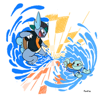 Water Brothers by Devilinchan94