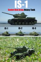 IS-1 finally operational x3 by DingoPatagonico