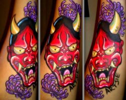 ONI MASK by ARTSIE-FARTSIE-PAINT
