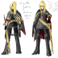 Concept: Lucetta Imperial Suit by PeterPrime