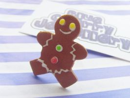 Gingerbread Man Ring 2 by tyney123