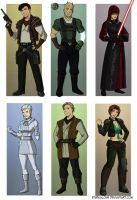 KOTOR II Companions by EtyrnalOne