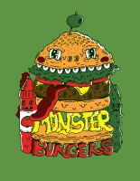 Monster Burgers by jakeliven