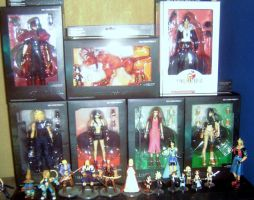 my final fantasy collection by costumizer86