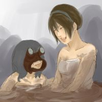 The Beifong family - Mud Pool by LorMenari