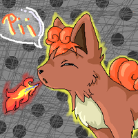 Vulpix Fire. . . by Ayuko-chan