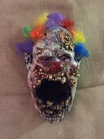 yucky the clown by UglyBabyEater