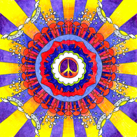Peter Max Inspired by ParaAbduction51