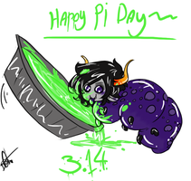 Happy Pi Day by Squidbiscuit
