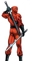 Red Ninja by bobbett