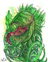This is Audrey II by uncouthbarbarian