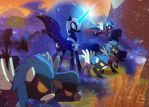 NightmareMoon-army by Luke262