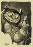 Where the Wild Things are by Red-J