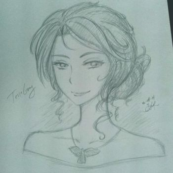 Quick Sketch - Tessa Gray by akamari