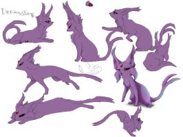 Dreamstate the Espeon by greyanimebeast