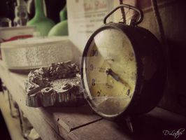 Time is the one that prevails. by DanielaLuther
