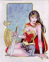 Wonder Woman (#16) by Rodel Martin by VMIFerrari