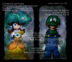 Mario: -SONG- It's raining... by saiiko