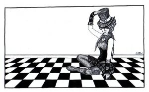 The second Circus Girl by Vertizart