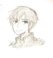 New and improved Kirito OC by redhotcinnamontwist