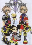 kingdom hearts... by miercoles666