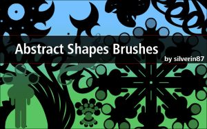 Abstract Shape Brushes by silverin87