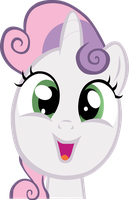 Sweetie Belle by Animalsss