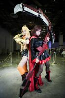 RWBY - Yang and Ruby by Violet-112