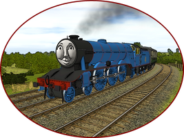 Railway Series Portraits - Gordon by wildnorwester