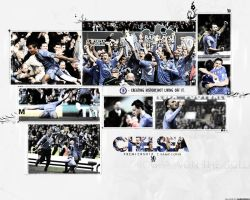 Chelsea FC 2009 - 10 Champions by manishdesigns