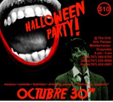 Halloween Flyer by VethBlack