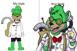 Professor Ren: My Style-Your Style by Force-O-Nature