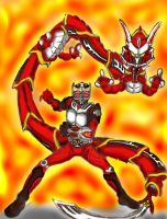 Kamen Rider Ryuki Final Vent. by GrandZebulon