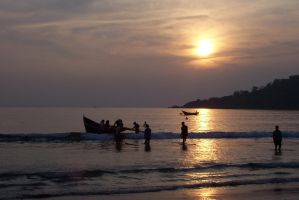 Sunset in Goa by 100-days