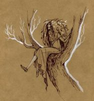 Wood fairy by tin-sulwen