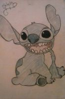 Stitch- Lilo and Stitch by LilithNell