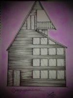 wooden house by Chaves22Amanda