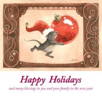 Best Wishes This Holiday by KelliRoos