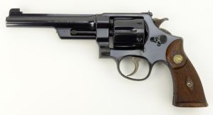 Smith and Wesson Registered Magnum Revolver by guardmn