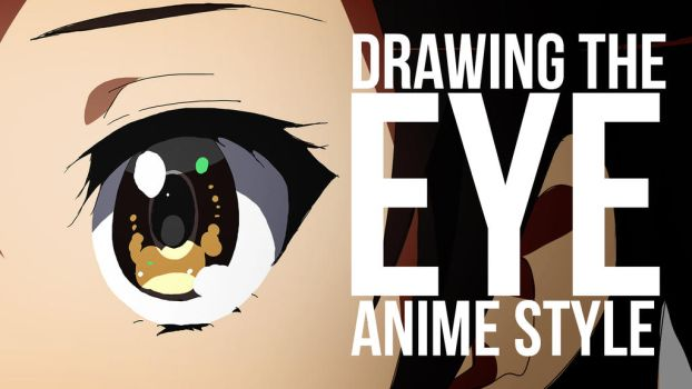 Drawing the Eye Anime Style | Process Video by moxie2D