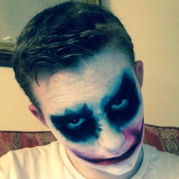 The Joker Makeup (Facepaint) by AstroLuxray