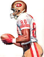 jerry rice by jmont