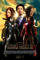 Iron Man 2 Theatrical Poster by J-K-K-S