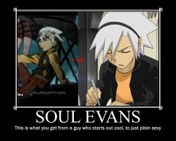Soul evans motivational poster by Lugiaisawesome