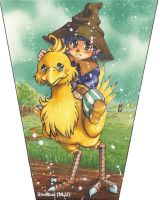 Taru on Chocobo by SheCow